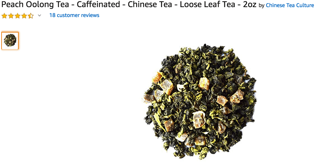 Peach Oolong Loose Leaf Tea Amazon